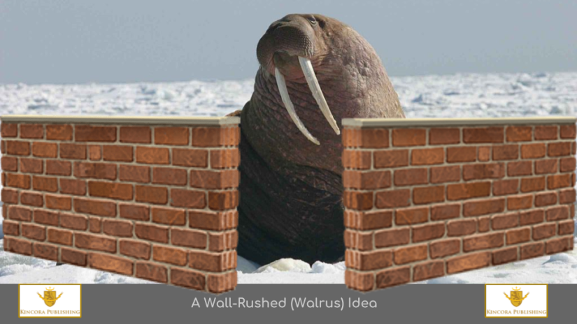 A 'Wall-Rushed' Idea